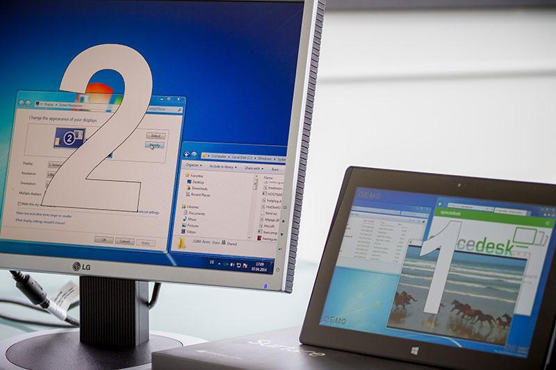tablets als externen monitor nutzen auf pc. Black Bedroom Furniture Sets. Home Design Ideas