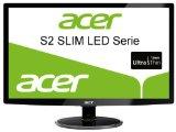 Acer S242HLCBID 60,1 cm (24 Zoll) Ultra Slim LED Monitor (VGA, DVI, HDMI, 2ms Reaktionszeit) schwarz